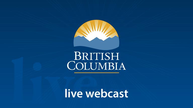 Live   BC Gov News