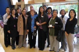 DIVERSEcity staff attend the CASI launch in Surrey on October 22, 2010.