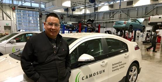 Upgrading and career exploration led to automotive service technician program