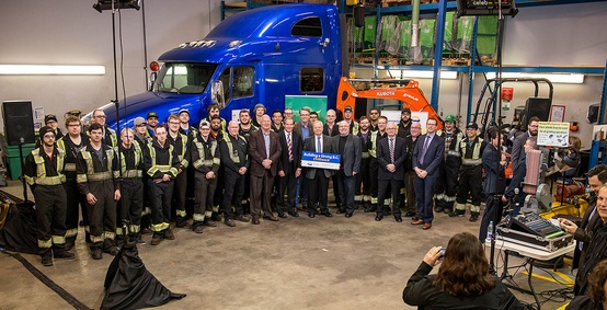 Students to benefit from new heavy-mechanical and farm-technology centre