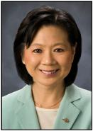 Minister of Healthy Living and Sport, Ida Chong