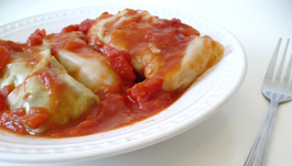 Cabbage Rolls Deconstructed