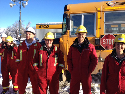 SD 59 Non-Instructional Day visit to Encana drilling site