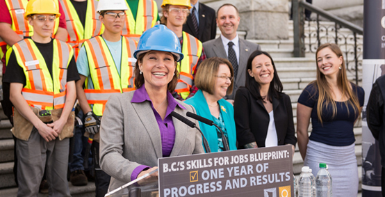 B.C.'s Skills for Jobs Blueprint celebrates one-year anniversary