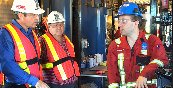 Oil and Gas in spotlight during manufacturing tour