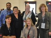 Ministry Staff at GWVII, Front L-R:  Breanna Chandler, Nicole Ryan; Back L-R:  Raj Maharaj, Shannon M. McDonald, Tara Nault, Arlene Paton
