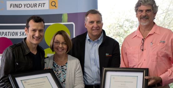 VIDEO: Minister Bond and the Industry Training Authority recognize Employer Apprenticeship Sponsors at the Pacific National Exhibition