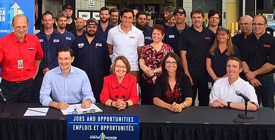 Canada-B.C. Job Grant supports B.C. workers and businesses