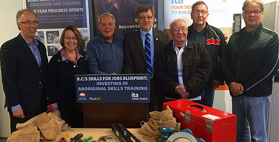 New trades training program for Aboriginal people in B.C. to begin in fall 2015