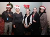 Health Actions Team, L-R:  Raj Maharaj; Bre Chandler; Danielle Harkey; Tara Nault; & Lori Isaac