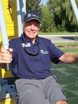 Stu Deeks at the Cranbrook ActNow BC Seniors Park