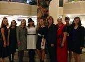 Premier's Award Dinner Attendees:  Jodie McKinney; Sukhy Sidhu; Nicole Ryan; Madelynn Slade; Danielle Harkey; Arlene Paton, ADM; Tara Nault; Kelly McQuillen; & Mary Chu